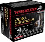Winchester Ammunition S45CPDB 20RND 45 Colt PSTL Ammo