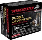 Winchester Ammunition S9MMPDB 20RND 9mm Lug PSTL Ammo