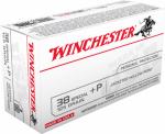 Winchester Ammunition USA38SPVP 100RND 38Spec PSTL Ammo