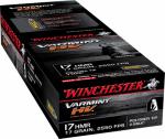 Winchester Ammunition S17HMR1LF 50RND 17 HMR Rim Ammo