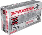 Winchester Ammunition USA45CB 50RND 45 Colt PSTL Ammo