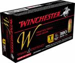 Winchester Ammunition W380T 50RND 380Auto PSTL Ammo