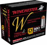Winchester Ammunition W380D 20RND 380Auto PSTL Ammo