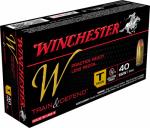 Winchester Ammunition W40SWT 50RND 40 SW PSTL Ammo