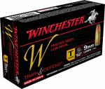 Winchester Ammunition W9MMT 50RND 9mm Lug PSTL Ammo