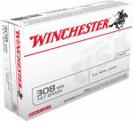 Winchester Ammunition USA3081 20RND 308 Win RFL Ammo