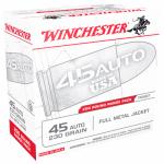 Winchester Ammunition USA45W 200RND 45Auto PSTL Ammo