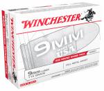 Winchester Ammunition USA9W 200RND 9mmLug PSTL Ammo