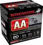 Winchester Ammunition AA20FL8 25RND 20GA 2-3/4#8 Ammo