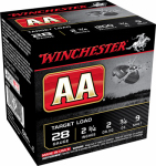 Winchester Ammunition AA289 25RND 28GA 2-3/4#9 Ammo