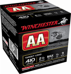 Winchester Ammunition AA419 Ammunition, AA Target Load, .410-Ga., 2.5-In., 25-Rounds