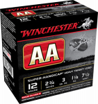 Winchester Ammunition AAHA127 Ammunition, AA Target Load, 12-Ga., 2.75-In., 25-Rounds
