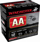 Winchester Ammunition AAM127 AA 12-Gauge Shotgun Shells, #7.5 Shot, 25-Ct.