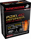 "Winchester Ammunition S413PDX1 10RND 410GA 3"" Disc/BB"