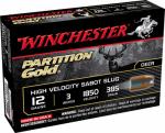 "Winchester Ammunition SSP123 5RND 12GA 3"" Sabot Ammo"