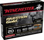 Winchester Ammunition SSP20 5RND 20GA Sabot Ammo