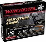"Winchester Ammunition SSP203 5RND 20GA 3"" Sabot Ammo"