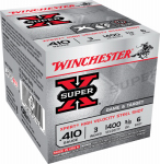 "Winchester Ammunition WE413GT6 25RND 410GA 3"" #6 Ammo"