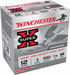 "Winchester Ammunition WEX123BB 25RND 12GA 3"" Baseball or BB Shot"