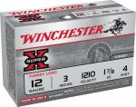 Winchester Ammunition X123MT4 10RND 12GA #4 Magn Load