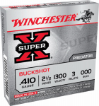 """Winchester Ammunition XB41000 5RND 410GA 2-1/2"""" Ammo"""