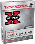 """Winchester Ammunition XB413 5RND 410GA 3"""" Buff Ammo"""