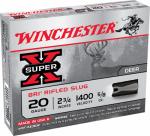 Winchester Ammunition XRS20 5RND20GA 2-3/4 Sab Slug
