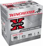 Winchester Ammunition XU166 25RND 16GA 2-3/4#6 Ammo