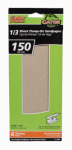 Ali Industries 5041 Sanding Sheets, Aluminum Oxide, 150-Grit, 3-2/3 x 9-In., 6-Pk.