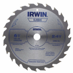 Irwin Industrial Tool 15120 Circular Saw Blade, Cordless, 6.5-In. x 24TPI