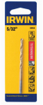 Irwin Industrial Tool 63910 Drill Bit, Titanium, Jobber Length, 5/32-In.