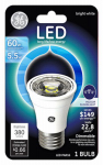 G E Lighting 26384 LED Floodlight Bulb, Indoor, PAR16, Medium Base, 5.5-Watt