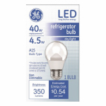 G E Lighting 83645 LED Appliance Bulb, 4.5-Watt