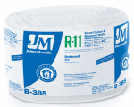 Johns Manville Intl 90003724 R11 Unfaced Insulation, 50-Sq. Ft. Coverage, 15-In. x 40-Ft. Roll
