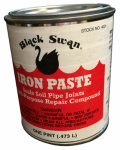 Black Swan Mfg 04031 Iron Paste Compound, 1-Pt.