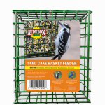 Global Harvest Foods 11236 Bird Seed Cake Cage, Vinyl-Coated Metal
