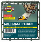 Global Harvest Foods 12331 Wild Bird Suet Cage, Vinyl-Coated Metal