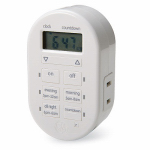 Jasco Products 26892-P1 Digital Plug-In Timer