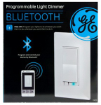 Jasco Products 13870 Smart Dimmer Switch, Bluetooth
