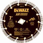 Dewalt Accessories DW4714 Diamond Wheel, Segmented, 7-In.