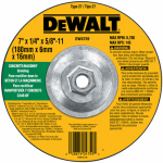 Dewalt Accessories DW4759 Masonry Grinding Wheel