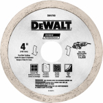Dewalt Accessories DW4790 Diamond Matrix Tile Blade, 4-In. x .060-In.