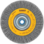 Dewalt Accessories DW4904 Crimped Wire Wheel Brush, 6-In.