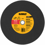 Dewalt Accessories DW8020 Cutting Blade, 14-In. x 1/8-In. x 1-In.
