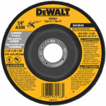 Dewalt Accessories DW8404 Grinding Wheel, Aluminum, 4.5 x 1/4 x 7/8-In.