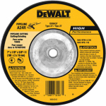 Dewalt Accessories DW8437 Pipeline Wheel, 7 x 1/8 x 5/8-In.-11