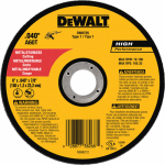 Dewalt Accessories DW8725 Metal/Stainless Cutting Wheel, 6 x .040 x 7/8-In.