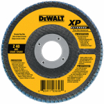 Dewalt Accessories DW8251 Flap Disc, 60-Grit, 4.5 x 7/8-In.