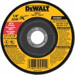 Dewalt Accessories DW4514B5 Metal Grinding Wheel, 4.5 x 1/4 x 7/8-In., 5-Pack