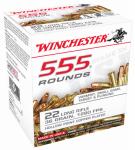 Winchester Ammunition 22LR555HP 555 Rounds Ammunition, .22  Long Rifle, 36 Grain